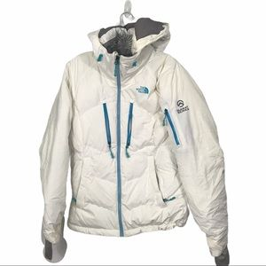 The North Face Sz Sm White Puffer Summit Series